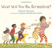 Cover art for WHAT WILL YOU BE, GRANDMA?