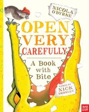 Cover art for OPEN VERY CAREFULLY