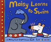Book Cover for MAISY LEARNS TO SWIM
