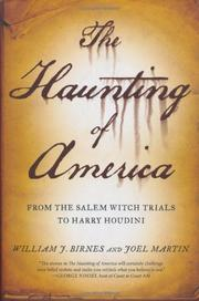 THE HAUNTING OF AMERICA by William J. Birnes