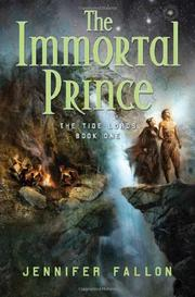 THE IMMORTAL PRINCE by Jennifer Fallon