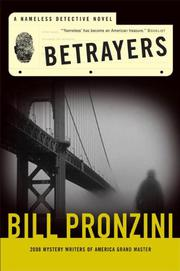 BETRAYERS by Bill Pronzini