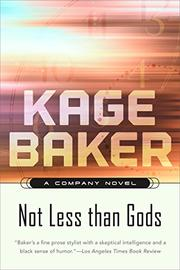 Book Cover for NOT LESS THAN GODS