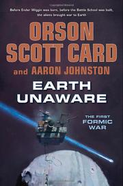 EARTH UNAWARE by Orson Scott Card