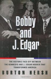 BOBBY AND J. EDGAR by Burton Hersh