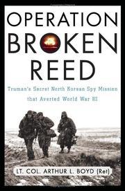OPERATION BROKEN REED by Arthur L. Boyd