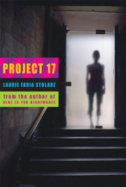 PROJECT 17 by Laurie Faria Stolarz