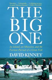 THE BIG ONE by David Kinney