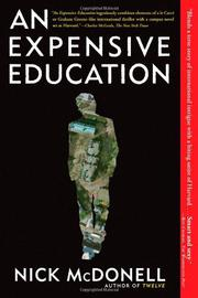 AN EXPENSIVE EDUCATION by Nick McDonell