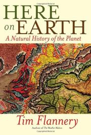 HERE ON EARTH by Tim Flannery