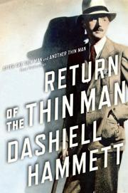 RETURN OF THE THIN MAN by Dashiell Hammett