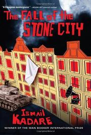 Cover art for THE FALL OF THE STONE CITY