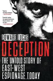 DECEPTION by Edward Lucas