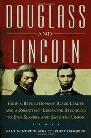 Book Cover for DOUGLASS AND LINCOLN
