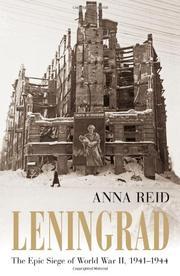 LENINGRAD by Anna Reid