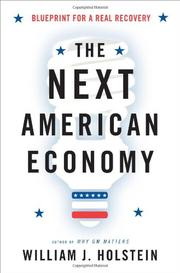 THE NEXT AMERICAN ECONOMY by William J. Holstein