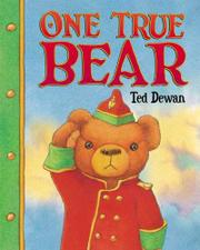 Book Cover for ONE TRUE BEAR
