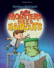 Cover art for EVEN MONSTERS NEED HAIRCUTS