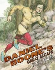 Book Cover for DANIEL BOONE'S GREAT ESCAPE