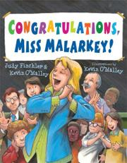 CONGRATULATIONS, MISS MALARKEY!  by Judy Finchler