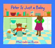 Book Cover for PETER IS JUST A BABY