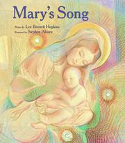 MARY'S SONG by Lee Bennett Hopkins
