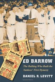 ED BARROW by Daniel R. Levitt
