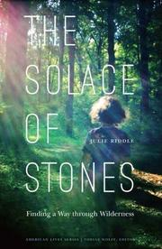 THE SOLACE OF STONES by Julie Riddle