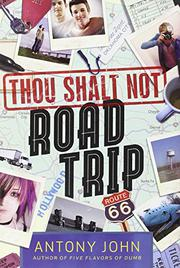 Cover art for THOU SHALT NOT ROAD TRIP