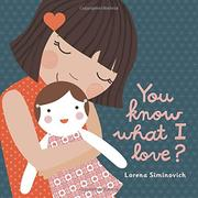 YOU KNOW WHAT I LOVE? by Lorena Siminovich