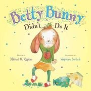 Cover art for BETTY BUNNY DIDN'T DO IT