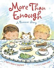 MORE THAN ENOUGH by April Halprin Wayland