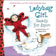 LADYBUG GIRL READY FOR SNOW by David Soman