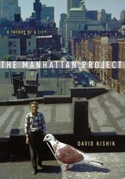 THE MANHATTAN PROJECT by David Kishik