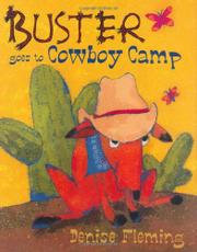 Book Cover for BUSTER GOES TO COWBOY CAMP