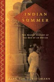 INDIAN SUMMER by Alex von Tunzelmann