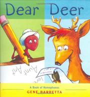 DEAR DEER by Gene Baretta