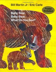 Book Cover for BABY BEAR, BABY BEAR, WHAT DO YOU SEE?