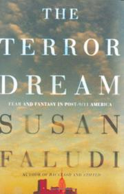Cover art for THE TERROR DREAM