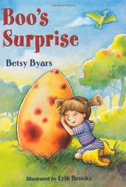 BOO'S SURPRISE by Betsy Byars