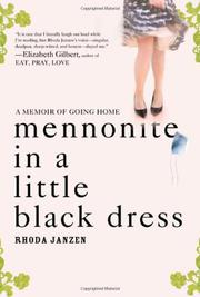 Book Cover for MENNONITE IN A LITTLE BLACK DRESS