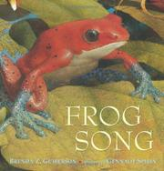 Book Cover for FROG SONG