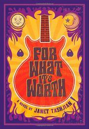 FOR WHAT IT'S WORTH by Janet Tashjian