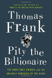 Cover art for PITY THE BILLIONAIRE