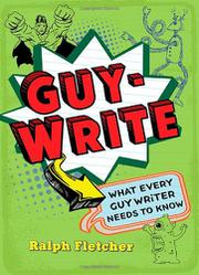 Cover art for GUY-WRITE