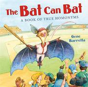 THE BAT CAN BAT by Gene Barretta