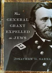 Cover art for WHEN GENERAL GRANT EXPELLED THE JEWS