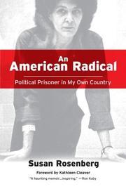 AN AMERICAN RADICAL by Susan Rosenberg