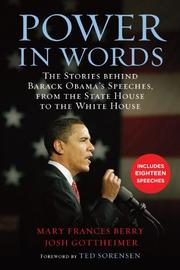 POWER IN WORDS by Mary Frances Berry