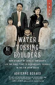WATER TOSSING BOULDERS by Adrienne Berard